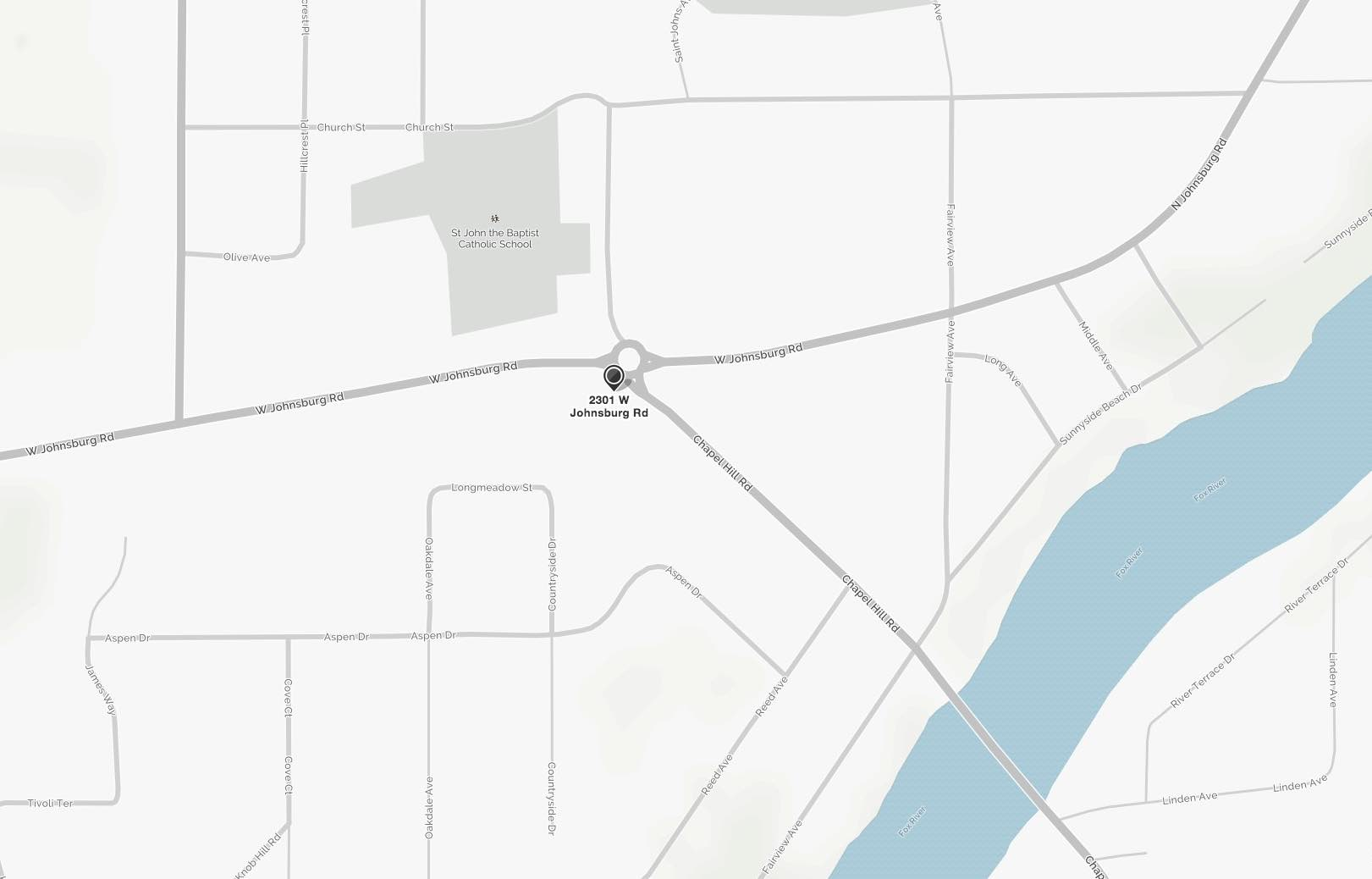 Map | Prime Dental Associates in Johnsburg IL