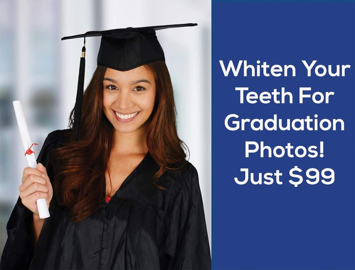 Whitening Special for Graduation - Prime Dental Associates - Johnsburg IL