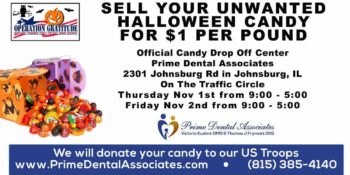 Prime Dental Associates Will Buy Your Leftover Halloween Candy!